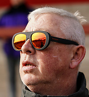 Highbury Stadium, home of Fleetwood Town reflected in a fan's sunglasses<br /> <br /> Photographer Lee Parker/CameraSport<br /> <br /> The EFL Sky Bet League One - Fleetwood Town v Blackpool - Saturday 7th March 2020 - Highbury Stadium - Fleetwood<br /> <br /> World Copyright © 2020 CameraSport. All rights reserved. 43 Linden Ave. Countesthorpe. Leicester. England. LE8 5PG - Tel: +44 (0) 116 277 4147 - admin@camerasport.com - www.camerasport.com