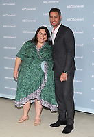 NEW YORK, NY - MAY 14: Chrissy Metz and Justin Hartley at the 2018 NBCUniversal Upfront at Rockefeller Center in New York City on May 14, 2018.  <br /> CAP/MPI/PAL<br /> &copy;PAL/MPI/Capital Pictures