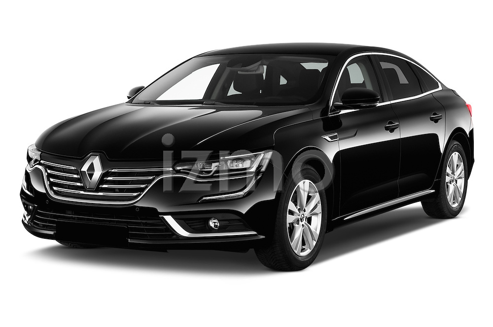 2016 Renault Talisman Intens 4 Door Sedan Angular Front stock photos of front three quarter view