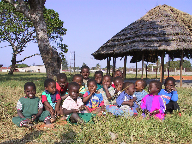 Zimpeto Center, Mozambique, AFRICA, Iris Ministries May 2001.