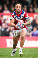 Picture by Alex Whitehead/SWpix.com - 12/03/2017 - Rugby League - Betfred Super League - Wakefield Trinity v Salford Red Devils - Beaumont Legal Stadium, Wakefield, England - Wakefield's Tinirau Arona