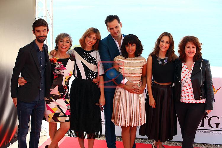 48 Festival Internacional de Cinema Fantastic de Catalunya, Sitges 2015.<br /> Photocall La Novia.<br /> Alex Lafuente, Luisa Gavasa, Leticia Dolera, Asier Etxeandia, Inma Cuesta &amp; Paula Ortiz.