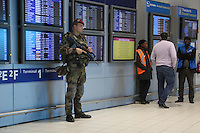 14.11.2015: Sicherheit erhöht an Charles de Gaulle nach Anschlägen
