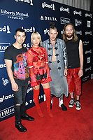 www.acepixs.com<br /> May 6, 2017  New York City<br /> <br /> Joe Jonas, JinJoo Lee, Cole Whittle, Jack Lawless attending arrivals at GLAAD Media Awards on May 6, 2017 in New York City.<br /> <br /> Credit: Kristin Callahan/ACE Pictures<br /> <br /> <br /> Tel: 646 769 0430<br /> Email: info@acepixs.com