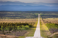 Richardson highway south of Delta Junction, Interior, Alaska.