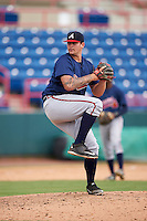 Atlanta Braves pitcher Chase Johnson-Mullins (98) during an Instructional League game against the Washington Nationals on September 30, 2016 at Space Coast Stadium in Melbourne, Florida.  (Mike Janes/Four Seam Images)