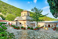 The Monastery of Evagelistria in Skiathos island, Greece