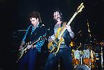 Brian Robertson , Lemmy & Phil Taylor of Motorhead 10th anniversary concert London 1985. Motorhead, Lemmy , Motorhead