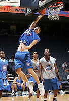 P/WF Mason Plumlee (Arden, NC / Christ School) shoots the ball during the NBA Top 100 Camp held Saturday June 23, 2007 at the John Paul Jones arena in Charlottesville, Va. (Photo/Andrew Shurtleff)