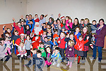 SANTA: Santa arriving by pony and trap at the St Brtendan's Hall Community centre,Ardfert on Friday evening to a very warm reception from the children of Ardfert.