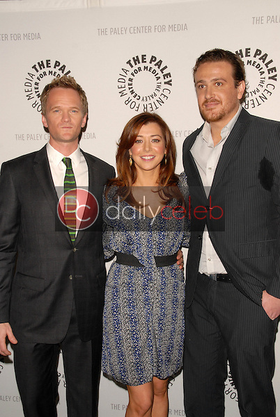 Neil Patrick Harris, Alyson Hannigan and Jason Segel<br />