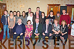 DOUBLE CELEBRATION: Nora and Dan O'Connell, Tarbert (seated 2nd & 3rd left) enjoying a great time celebrating their 30th wedding anniversary and Dan's 60th birthday with family and friends at the Crown hotel, Castleisland on Saturday.