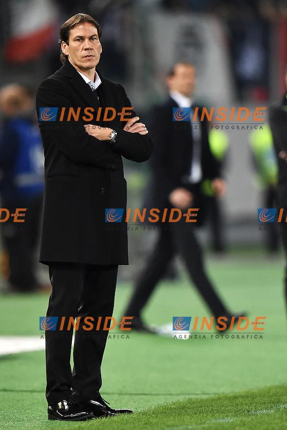 Rudi Garcia Roma <br /> Roma 02-03-2015 Stadio Olimpico Football Calcio Serie A AS Roma - Juventus. Foto Andrea Staccioli / Insidefoto