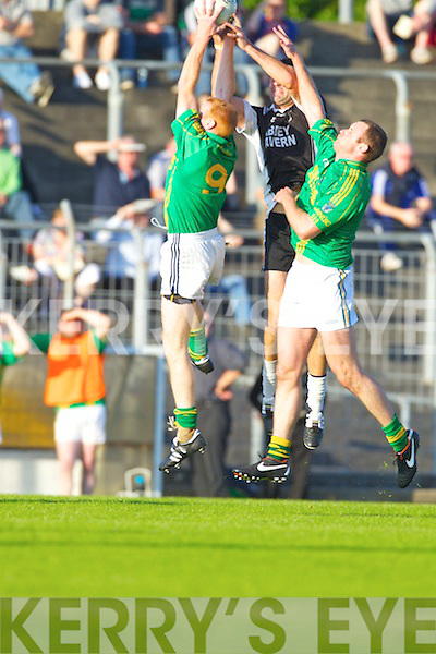 Finuge in action against  Ardfert in the Club Championship Intermediate Semi Fanal at Austin Stack Park on Saturday.