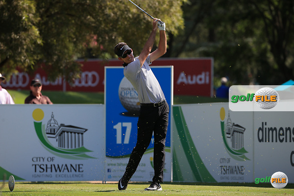 Dylan Fritelli (RSA)  in action during Round Three of the 2016 Tshwane Open, played at the Pretoria Country Club, Waterkloof, Pretoria, South Africa.  13/02/2016. Picture: Golffile | David Lloyd<br /> <br /> All photos usage must carry mandatory copyright credit (&copy; Golffile | David Lloyd)