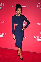 NEW YORK, NY - JANUARY 24: Kara McCullough at the Revlon Live Boldly launch at Skylight Modern on January 24, 2018 in New York City. Credit: John PalmerMediaPunch