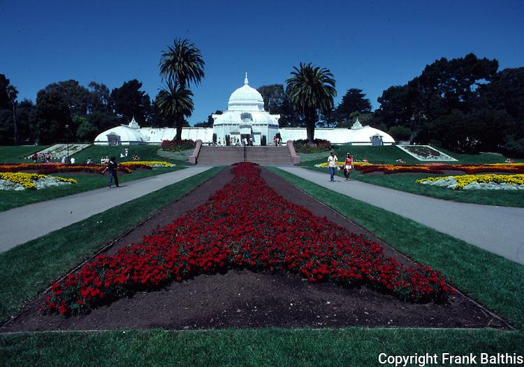Conservatory at Golden Gate Park
