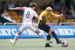 HKFC U-23 (in white) vs Singapore Cricket Club (in yello), during their Main Tournament match, part of the HKFC Citi Soccer Sevens 2017 on 27 May 2017 at the Hong Kong Football Club, Hong Kong, China. Photo by Marcio Rodrigo Machado / Power Sport Images