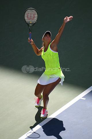 FLUSHING NY- SEPTEMBER 04: Caroline Wozniacki Vs Madison on Arthur Ashe Stadium at the USTA Billie Jean King National Tennis Center on September 4, 2016 in Flushing Queens. Credit: mpi04/MediaPunch