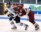 Joe Lavin (Providence 11), Matt Lombardi (BC 24) - The Boston College Eagles and Providence Friars played to a 2-2 tie on Saturday, March 1, 2008 at Schneider Arena in Providence, Rhode Island.