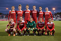 Boyds, MD - Saturday September 30, 2017: Washington Spirit Starting XI during a regular season National Women's Soccer League (NWSL) match between the Washington Spirit and the Seattle Reign FC at Maureen Hendricks Field, Maryland SoccerPlex.