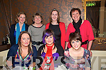 Staff Night Out: Enjoying their Christmas Staff party at The Horseshoe Bar in Listowel on Friday night last from Kelly's Service Station, Six Crosses, Listowel  are in fronr: Veronica Stack, Kerrie Herbert & Lorraine O'Hanlon. Back row: Alice O'Connor,Helen O'Connor, Mairead O'Connell & Julie Royston.