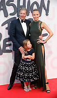 atasha Poly, Peter Bakker and Aleksandra Bakker attend Fashion for Relief Cannes 2018 during the 71st annual Cannes Film Festival at Aeroport Cannes Mandelieu on May 13, 2018 in Cannes, France.<br /> CAP/GOL<br /> &copy;GOL/Capital Pictures