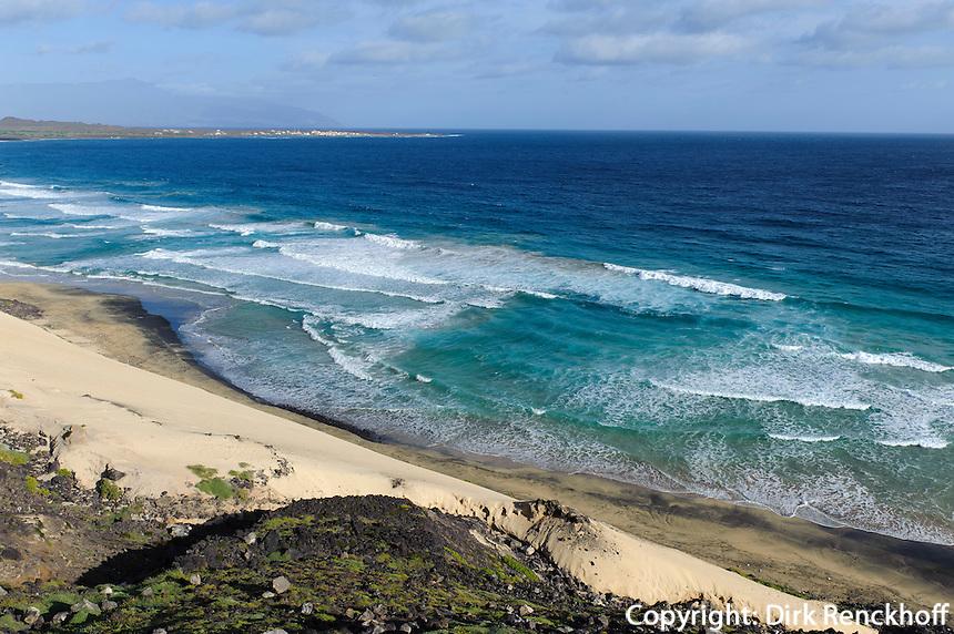 Praia Grande an der Ostküste, Sao Vicente, Kapverden, Afrika
