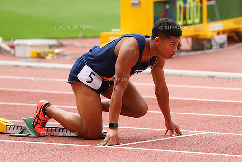 Julian Jrummi Walsh (), <br /> MAY 20, 2016 - Athletics : <br /> The 95th Kanto University Athletics Championship <br /> Men's 400m Final <br /> at Nissan Stadium, Kanagawa, Japan. <br /> (Photo by YUTAKA/AFLO SPORT)