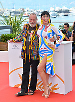 Rossy De Palma &amp; Terry Gilliam at the photocall for &quot;The Man Who Killed Don Quixote&quot; at the 71st Festival de Cannes, Cannes, France 19 May 2018<br /> Picture: Paul Smith/Featureflash/SilverHub 0208 004 5359 sales@silverhubmedia.com