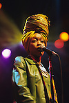 Live photographs of Erykah Badu