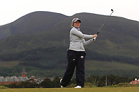 Julie Hovland (NOR) on the 2nd tee during Round 2 of the Women's Amateur Championship at Royal County Down Golf Club in Newcastle Co. Down on Wednesday 12th June 2019.<br /> Picture:  Thos Caffrey / www.golffile.ie