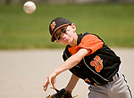 WATERBURY, CT-0712117JS04--Water-Oak's T.J. Angiolini (24) delivers a pitch during their consolation bracket game against the Bonnies of Brooklyn in the Roberto Clemente Tournament Thursday at the Waterbury PAL field. <br /> Jim Shannon Republican-American