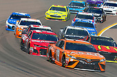 Monster Energy NASCAR Cup Series<br /> TicketGuardian 500<br /> ISM Raceway, Phoenix, AZ USA<br /> Sunday 11 March 2018<br /> Daniel Suarez, Joe Gibbs Racing, Toyota Camry ARRIS<br /> World Copyright: Russell LaBounty<br /> NKP / LAT Images