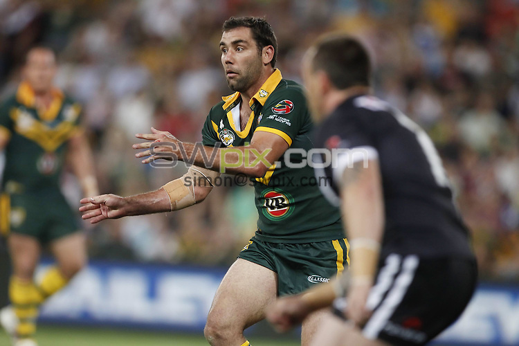 COPYRIGHT PICTURE SIMON WILKINSON SWpix.com.07811 267 606 simon@swpix.com..Cameron Smith. Four Nations Rugby League Final - Kangaroos v Kiwis, 13 November 2010 . Photo: Patrick Hamilton/Photosport