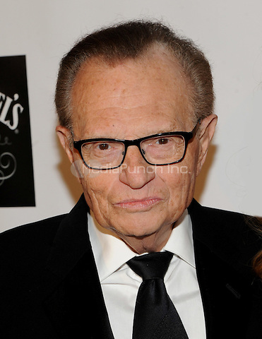New York, NY- October 7: Larry King attends the Friars Foundation Gala honoring Robert De Niro and Carlos Slim at the Waldorf-Astoria on October 7, 2014 in New York City. Credit: John Palmer/MediaPunch