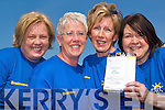 LEG IT: Ann McCarthy, Maria Conway, Liz Thornton and Maria Conway, all from Lixnaw who are taking part in the Flora Women's Mini-Marathon on June 2nd in aid of Brainwave for Epilepsy.    Copyright Kerry's Eye 2008