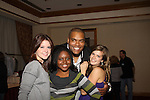 Brittany Underwood, Shenell Edmonds, Sean Ringgold, Kelley Missal at The One Life To Live Lucheon at the Hemsley Hotel in New York City, New York on October 9, 2010. (Photo by Sue Coflin/Max Photos)