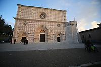 2019. l'Aquila dieci anni dopo il terremoto del 2009, Chiesa di Santa Maria di Colle Maggio Facciata