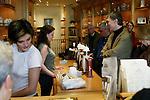 PARIS - FRANCE - 15 APRIL 2004--The mustard shop Maille at Place de la Madeleine. Customers being served-- PHOTO: ERIK LUNTANG / EUP-IMAGES