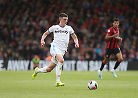 West Ham United's Declan Rice<br /> <br /> Photographer Rob Newell/CameraSport<br /> <br /> The Premier League - Bournemouth v West Ham United - Saturday 28th September 2019 - Vitality Stadium - Bournemouth<br /> <br /> World Copyright © 2019 CameraSport. All rights reserved. 43 Linden Ave. Countesthorpe. Leicester. England. LE8 5PG - Tel: +44 (0) 116 277 4147 - admin@camerasport.com - www.camerasport.com