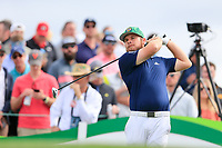 Tyrrell Hatton (ENG) on the 11th tee during the 3rd round of the Waste Management Phoenix Open, TPC Scottsdale, Scottsdale, Arisona, USA. 02/02/2019.<br /> Picture Fran Caffrey / Golffile.ie<br /> <br /> All photo usage must carry mandatory copyright credit (&copy; Golffile | Fran Caffrey)