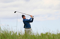 TJ Ford (Co.Sligo) on the 10th tee during Round 4 of The East of Ireland Amateur Open Championship in Co. Louth Golf Club, Baltray on Monday 3rd June 2019.<br /> <br /> Picture:  Thos Caffrey / www.golffile.ie<br /> <br /> All photos usage must carry mandatory copyright credit (© Golffile | Thos Caffrey)