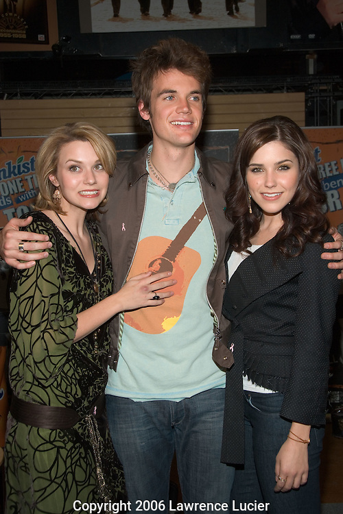 Hilarie Burton, Tyler Hilton, and Sophia Bush