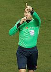 Spanish referee Mateu Lahoz during La Liga match.February 21,2015. (ALTERPHOTOS/Acero)