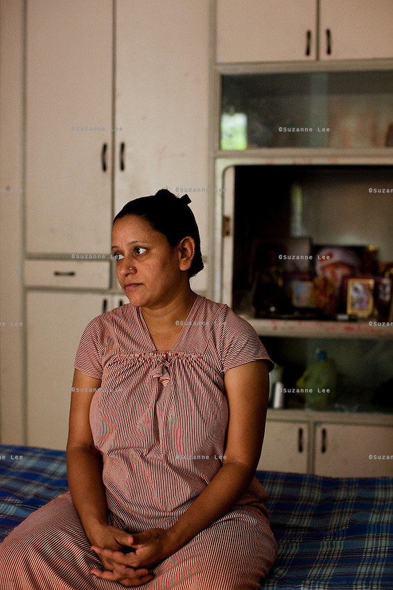 Ranju Rajabhai, 32, has enrolled in the surrogacy program because her husband had sustained 25% burns in a domestic kitchen accident and needs surgery. She will use the money to pay for the medical bills and build a house. She hasn't told her kids about the surrogacy. The biological parents of the baby are Canadians...The Akanksha Infertility Clinic is known internationally for its surrogacy program and currently has over a hundred surrogate mothers pregnant in their environmentally controlled surrogate houses.