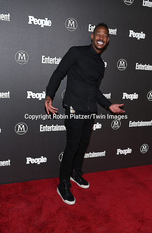 Marlon Wayans attends the Entertainment Weekly &amp; PEOPLE Magazine New York Upfronts Celebration on May 16, 2016 at Cedar Lake in New York, New York, USA.<br /> <br /> photo by Robin Platzer/Twin Images<br />  <br /> phone number 212-935-0770