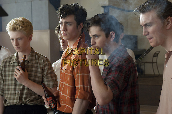 CAST - JOSH BOLT, SAM WILMOTT, AARON JOHNSON, FRAZER BIRD, ?.in Nowhere Boy .*Filmstill - Editorial Use Only*.CAP/FB.Supplied by Capital Pictures.