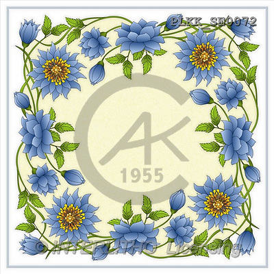 Kris, NAPKINS, paintings(PLKKSE0072,#SV#) Servietten, servilletas, illustrations, pinturas