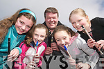 Tin Whistles: At the Eigse Dhiarmuid Ui Chathain tin whistle master class in the Ceolann, Lixnaw, on Saturday morning were Orla Keane and Emer Lynch, Ballymacelligott, Padraig Buckley, Fossa (Tutor), Ann Prendiville, Ballymacelligott, and Heather Grey, Finuge..